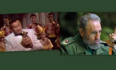 Ο Φιντέλ Κάστρο σε ηλικία 20 ετών κομπάρσος σε χολιγουντιανές ταινίες