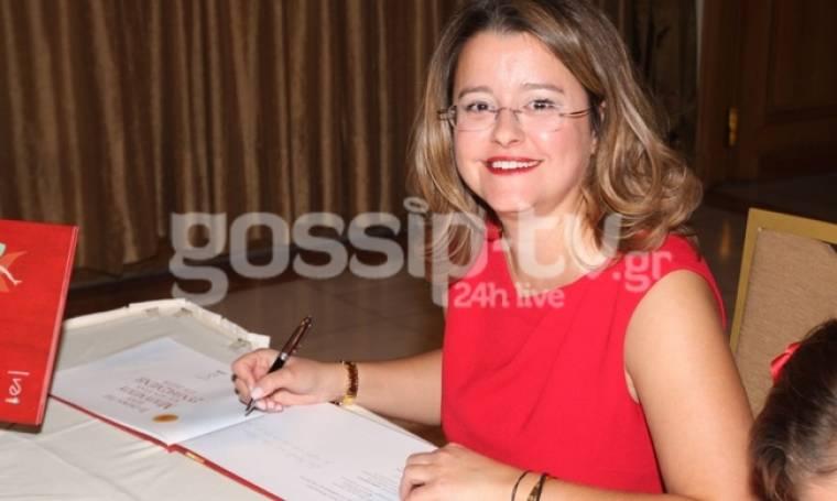 Παρουσίασε το βιβλίο της η Μαρία Δουρίδα Μηταράκη