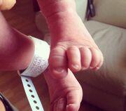 Γέννησε η Βάσω Κολλιδά. Η πρώτη φωτογραφία του μωρού