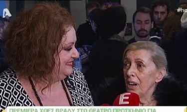 Ντίνα Κώνστα: «Δεν έχω δει όλα τα επεισόδια των 'Δυο Ξένων'»