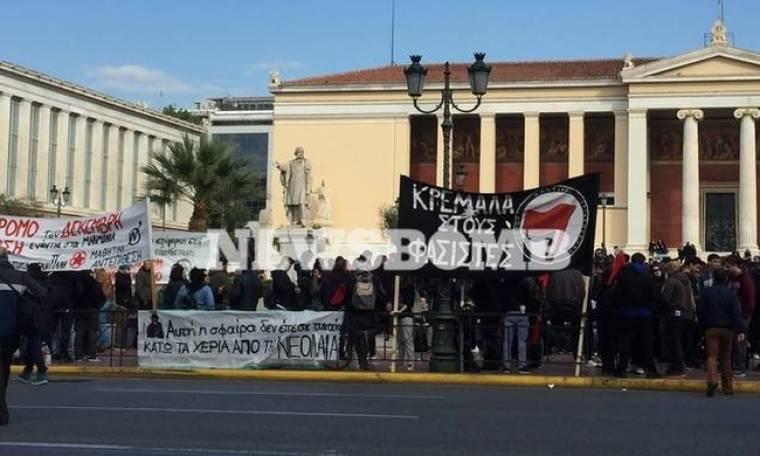 Πορείες Γρηγορόπουλου Live: Συγκεντρώσεις στην Αθήνα για την επέτειο δολοφονίας του μαθητή