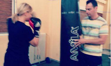 Η Νατάσα Ράγιου κάνει… kick boxing