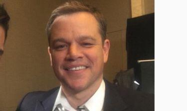 Ποιος Έλληνας παρουσιαστής συνάντησε τον… Matt Damon;