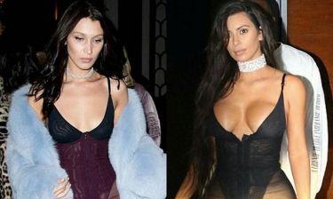 Έξαλλη την έκανε την Kardashian…