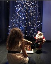 Πέγκυ Ζήνα: Η πιο γλυκιά χριστουγεννιάτικη φωτογραφία με την κόρη της