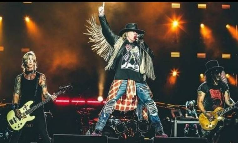 Οι Guns N' Roses προανήγγειλαν περιοδεία στην Ευρώπη για το 2017