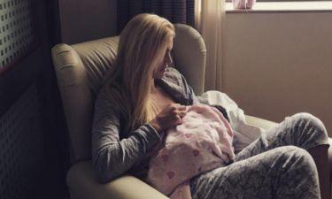 Βάσω Κολλιδά: Στιλάτη πέντε μέρες μετά τη γέννηση της κόρης της (φωτο)