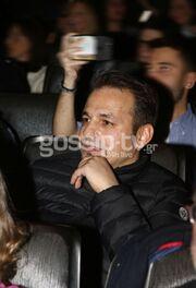 Ντέμης Νικολαΐδης: Στην πρεμιέρα της Βανδή στο θέατρο