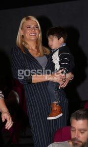 Φαίη Σκορδά: Με τον γιο της Δημήτρη στο σινεμά