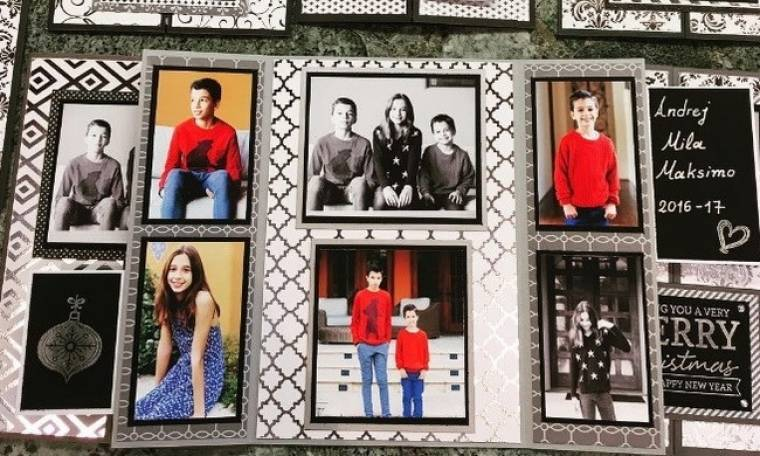 Αλέκα Καμηλά - Peja Stojacovic: Οι χριστουγεννιάτικες οικογενειακές τους κάρτες