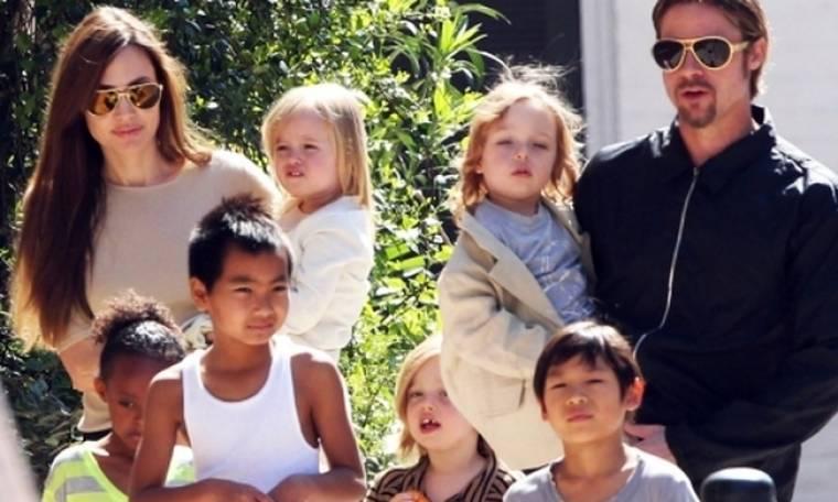 Angelina Jolie: «Θέλει να κρατήσει τα παιδιά μακριά από τον Pitt»