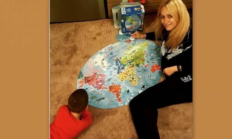 Ναταλί Κακκαβά: Μαμά και γιος μόλις έφτιαξαν ένα εντυπωσιακό pazzle