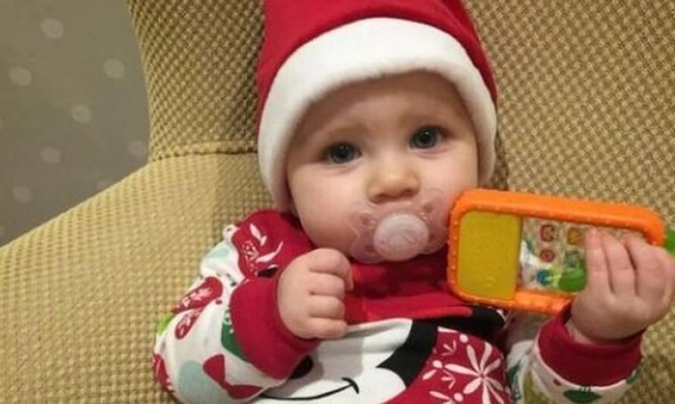 Η κόρη του ζευγαριού της ελληνικής showbiz έγινε 7 μηνών