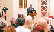 Στέλιος Αγγελίδης και η Αγγελική Αγγελίδη: Λαμπερή βραδιά με επώνυμους καλεσμένους