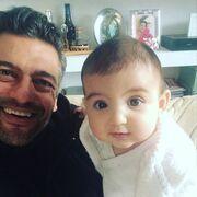Στέλιος Κρητικός: Η τρυφερή φωτογραφία με τη κορούλα του