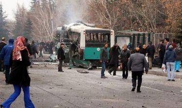 Έκρηξη Τουρκία: Σοκάρουν οι πρώτες εικόνες από το σημείο του μακελειού (pics+vid)