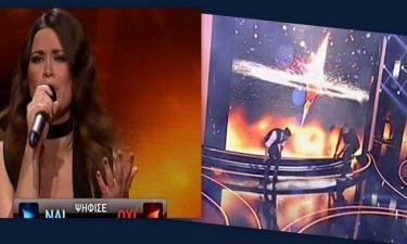 «Rising Star»: Κατάφερε να περάσει στο live αλλά ο τοίχος δεν σηκωνόταν λόγω τεχνικού προβλήματος