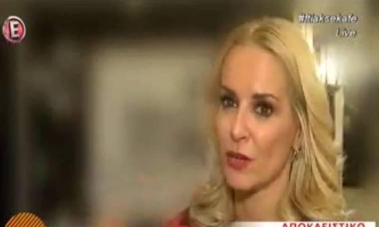 Μαρία Μπεκατώρου: Η απαντά για την άτυχη στιγμή να φύγει από συνέντευξη
