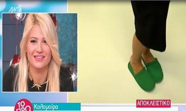 Καλομοίρα: Η εμφάνιση με παντόφλες στο Rising Star - Τι είπε η Φαίη Σκορδά