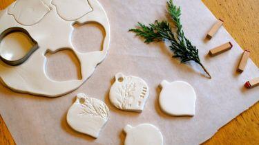 DIY Χριστουγεννιάτικα στολίδια από μαγειρική σόδα