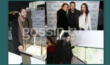 Οι celebrities σε εγκαίνια κοσμηματοπωλείου στο Νέο Ηράκλειο