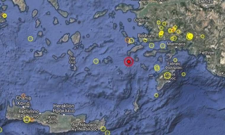 Ισχυρός σεισμός στη Νίσυρο (pics)