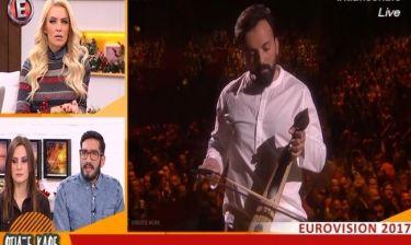 Η κοτσάνα της ημέρας από την Καινούργιου: O Λιανός πήγε στην Eurovision και... έπαιξε λύρα!