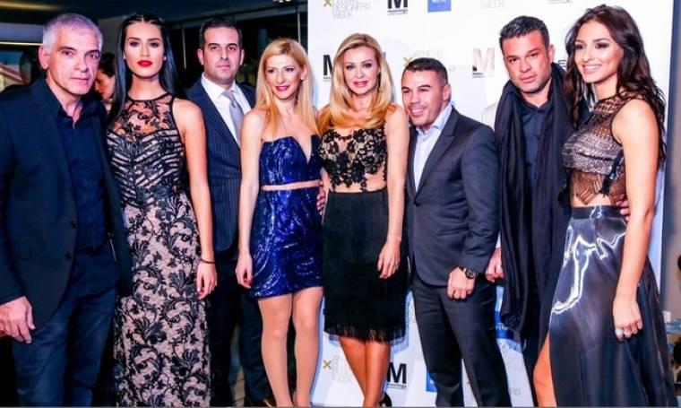 Λαμπερό Christmas Fashion Party στο Moorings από την Εβδομάδα Μόδας