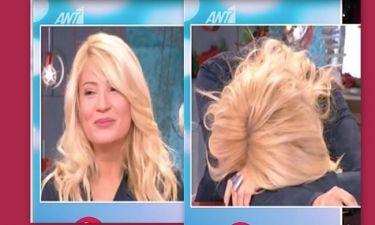 Τέζα η Σκορδά με την ατάκα της Σταμάτη περί ροζ dvd on air στο Πρωινό