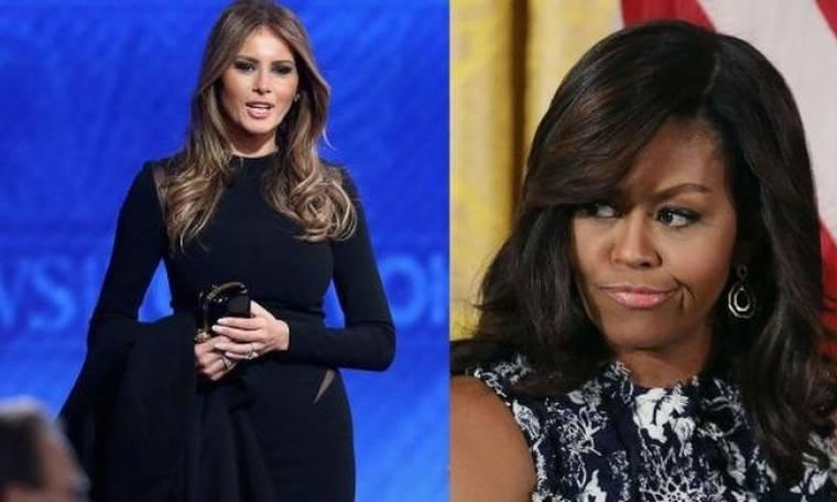 Michelle Obama: Πρόσφερε τις γνώσεις της στην Melania Trump