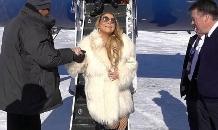 Έτσι πάει για… σκι η Mariah Carey