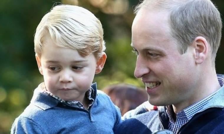 Και ο πρίγκιπας George κάνει… ατασθαλίες