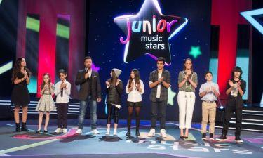 Junior Music Stars: Γιορτάσουν τα Χριστούγεννα στην τηλεόραση του ΣΚΑΪ