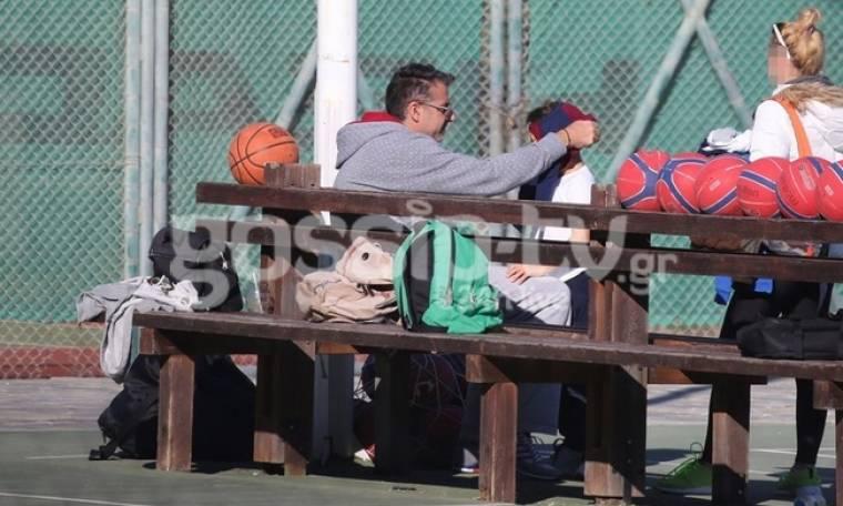 Γιώργος Λιάγκας: Στοργικές στιγμές με το γιο του
