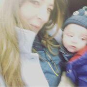 Αλίκη Κατσαβού: Τo ταξίδι με το νεογέννητο γιο της