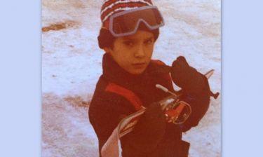 35 χρόνια πριν πόζαρε στα χιόνια ο…