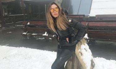 Ελένη Πετρουλάκη: Οικογενειακώς στην Σερβία