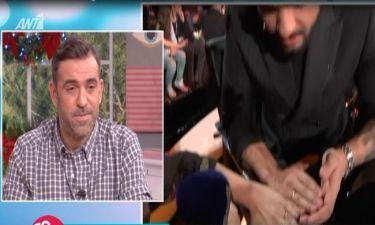 Ο Χρήστος Μάστορας δείχνει τη βέρα του και μιλά  πρώτη φορά
