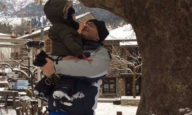 Ορφανός – Παφίλη: Οικογενειακή εξόρμηση στα χιόνια