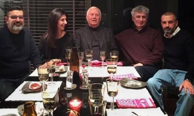 Νίκος Ξανθόπουλος: Γιορτές με την οικογένειά του