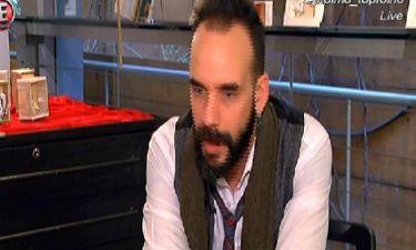 Πάνος Μουζουράκης: «Δεν περνάω πολύ καλά στις γιορτές»