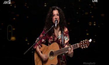 Με την κιθάρα της στο Rising Star η Σιντορέλα Οσμάνι