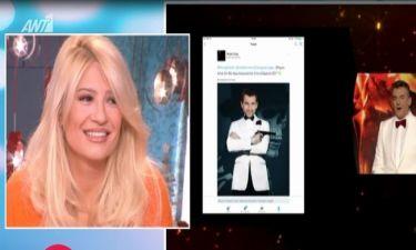 Γιώργος Λιάγκας: Το τρολάρισμα στο Rising Star για το σακάκι του