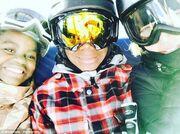 Madonna: Για σκι με τα παιδιά της στην Ελβετία