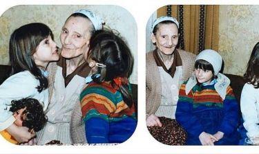 Meryem Uzerli: Η συγκινητική φωτογραφία της με τη γιαγιά της όταν ήταν παιδί