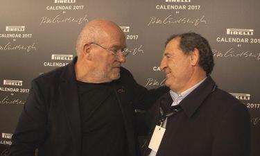 Το Traction και ο Κώστας Στεφανής στη λαμπερή εκδήλωση για το Ημερολόγιο της Pirelli