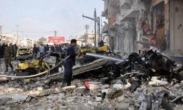 Συρία: Μακελειό σε έκρηξη παγιδευμένου αυτοκινήτου