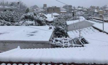 Καιρός Live: «Χτύπησε» ο χιονιάς – Πού θα χιονίσει τις επόμενες ώρες