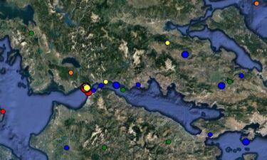 ΕΚΤΑΚΤΟ: Ισχυρός σεισμός ΤΩΡΑ στην Ναύπακτο