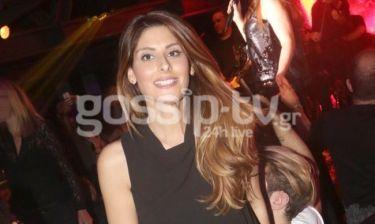 Ανθή Σαλαγκούδη: Με total black outfit σε πρόσφατη έξοδο